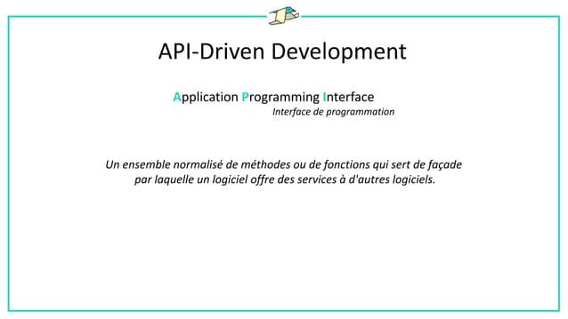 API-Driven Development Développer avec des API externes
