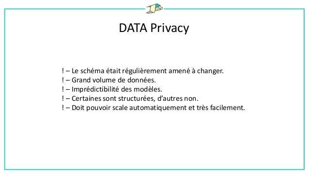 DATA Privacy D'un point de vue strictement juridique (loi informatique et libertés), les données sensibles au sens CNIL so...