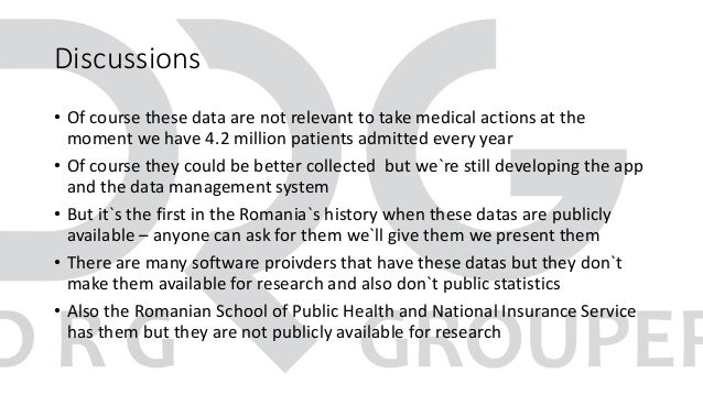 Discussions • Of course these data are not relevant to take medical actions at the moment we have 4.2 million patients adm...