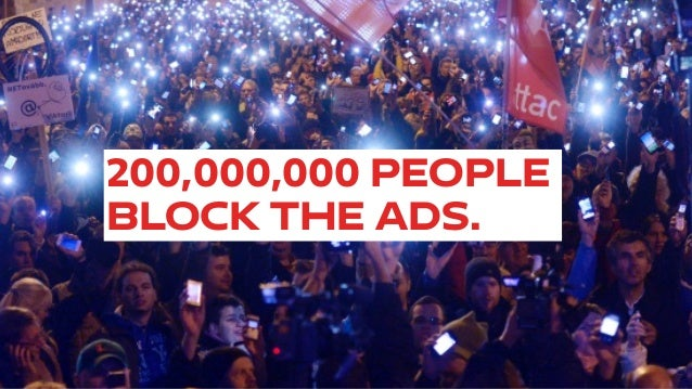 Adblock is a boycott: The failure of Big Data to see it coming. Version 2.0. Big Data + UX Meetup Slide 2