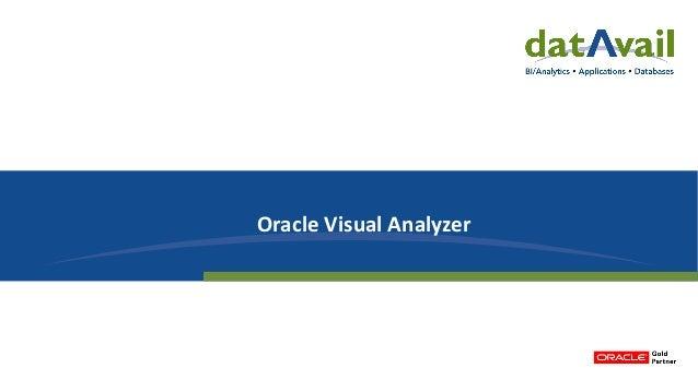 Oracle Visual Analyzer
