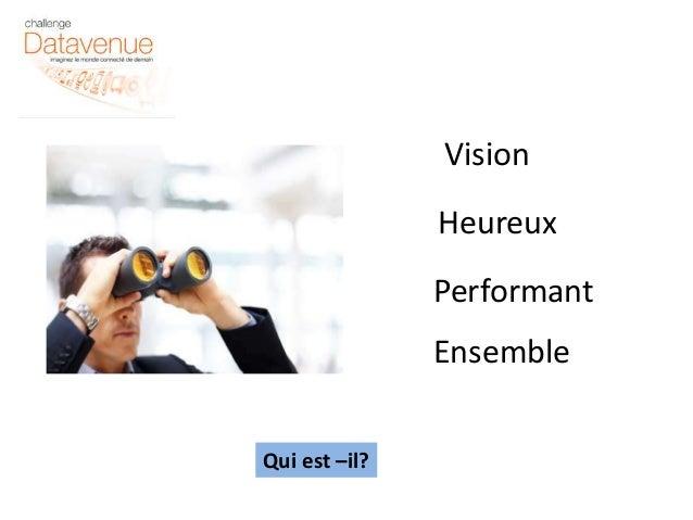 Vision  Heureux  Performant  Ensemble  Qui est –il?