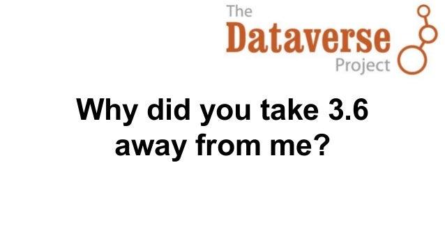 Dataverse 4.0 UX by Elizabeth Quigley Slide 2