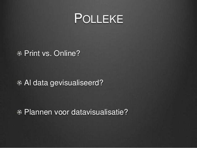 Datavisualisatie voor journalisten Slide 3