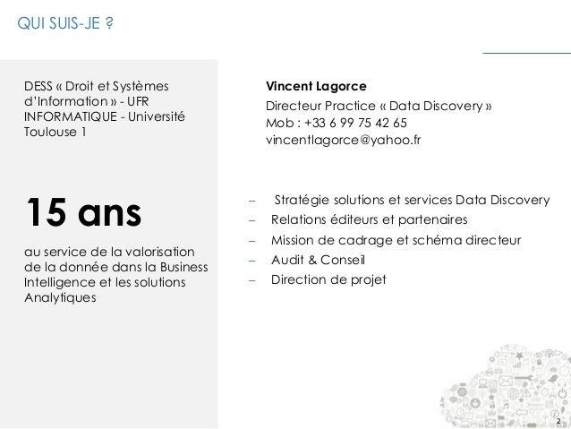 Data Visualisation, Business Intelligence et Big Data Slide 2