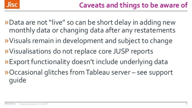 """Caveats and things to be aware of »Data are not """"live"""" so can be short delay in adding new monthly data or changing data a..."""
