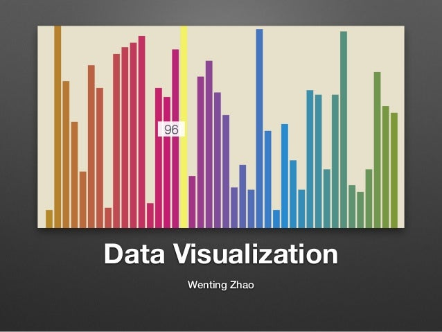 Data Visualization Wenting Zhao