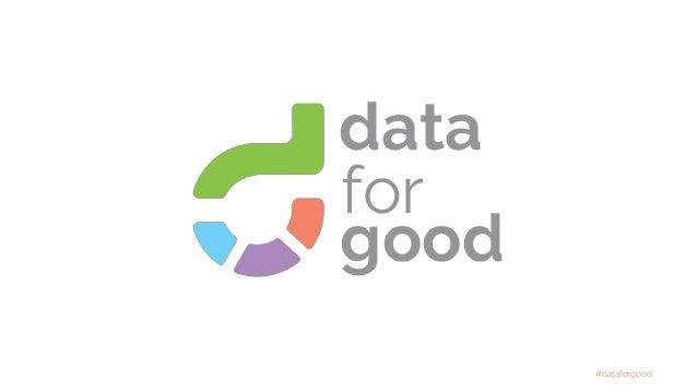 #dataforgood for good data