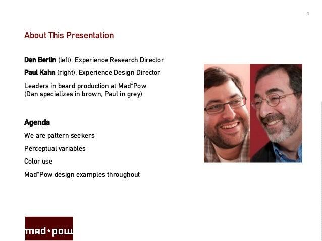 Visual Principles : Visual principles of experience design blending art and