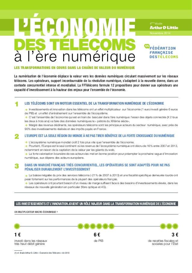 LES INVESTISSEMENTS ET L'INNOVATION JOUENT UN RÔLE MAJEUR DANS LA TRANSFORMATION NUMÉRIQUE DE L'ÉCONOMIE UN MULTIPLICATEUR...