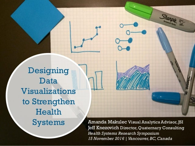 Designing Data Visualizations to Strengthen Health Systems Amanda Makulec Visual Analytics Advisor,JSI Jeff Knezovich Dire...