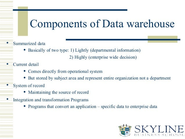 Data Warehouse Basic Guide