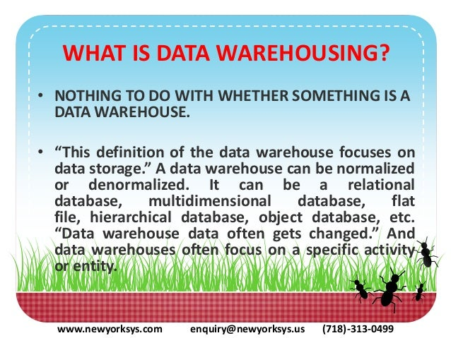 why should we have a separate databases and a data warehouse Data warehouse or data mart experience in source to target data mapping between warehouse and target database thanks, sunil nice september 17, 2013 • 5:13 am.