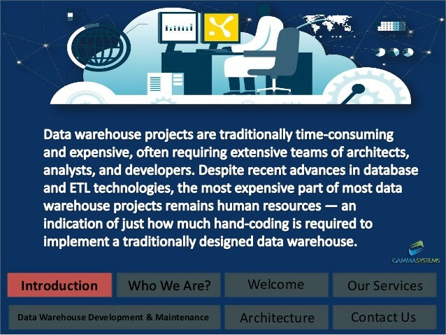 Data Warehouse Concepts, Architecture and Components