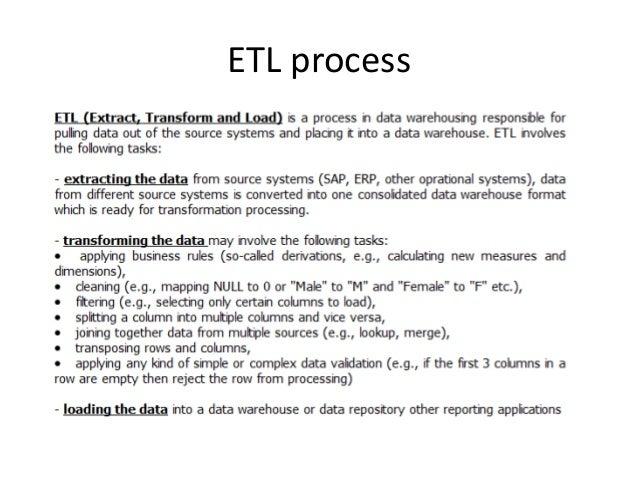 Etl Tasks | Resume CV Cover Letter
