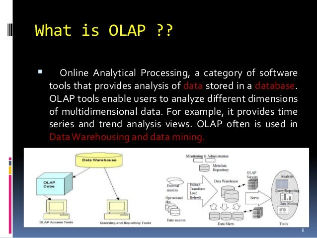 Issue in Data warehousing and OLAP in E-business