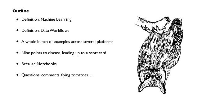OSCON 2014: Data Workflows for Machine Learning