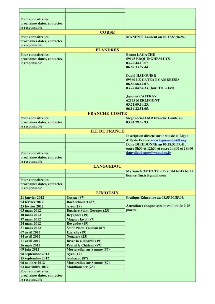 Date casm au 13 avril 2012 Slide 2