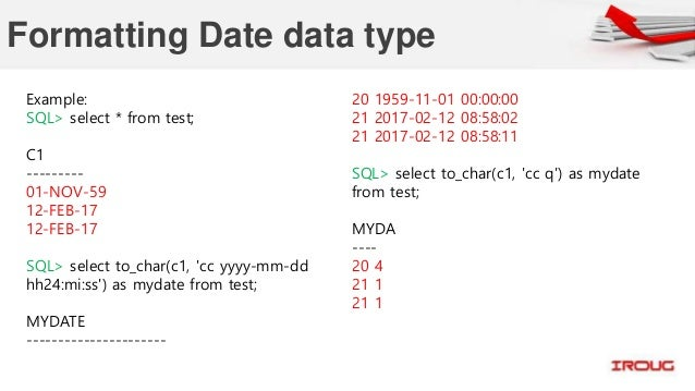 oracle date format single digit month I have a date mar 1 2013 which i want to load it into a table with date format as single digit date | 9 comments for month-end date, so i.