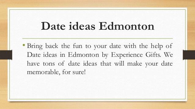 dating ideas in edmonton