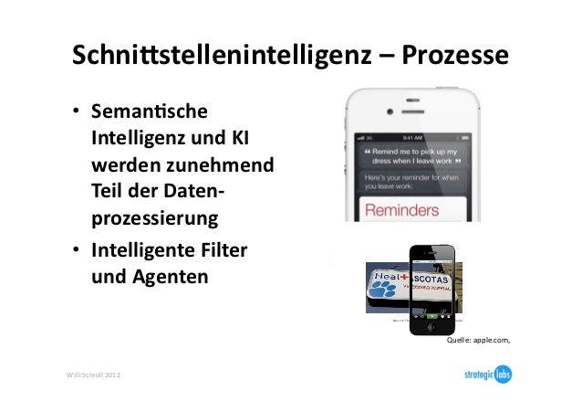 SchniBstellenintelligenz – Prozesse   • Seman6sche      Intelligenz und KI      werden zunehmend      T...