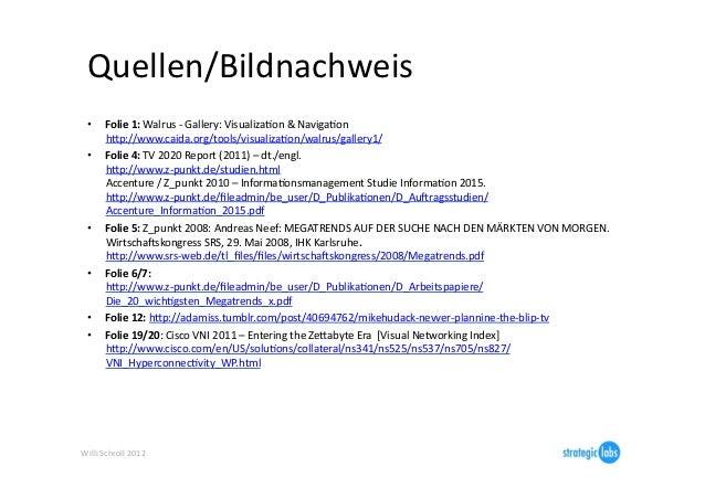 Quellen/Bildnachweis   •      Folie 1: Walrus -‐ Gallery: VisualizaIon & NavigaIon            hjp://ww...