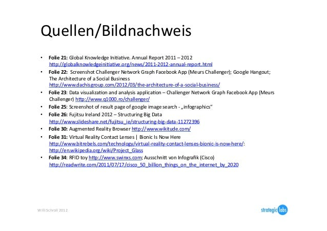 Quellen/Bildnachweis   •      Folie 21: Global Knowledge IniIaIve. Annual Report 2011 – 2012         ...