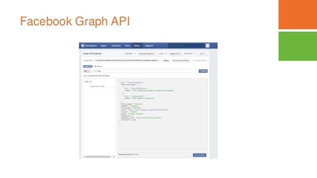 Facebook Graph API