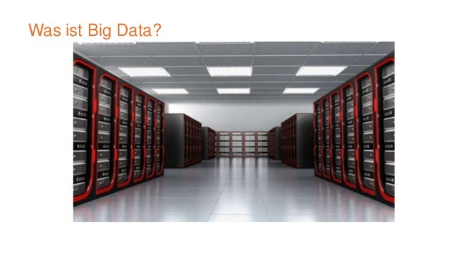 Eigeschaften  A distributed file system  Redundant storage  Designed to reliably store data using commodity hardware  ...