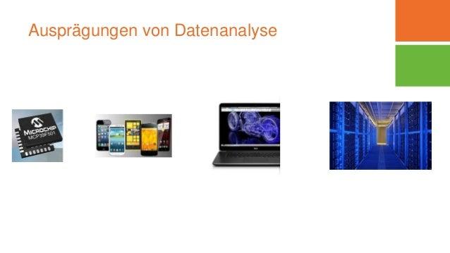 Ausprägungen von Datenanalyse
