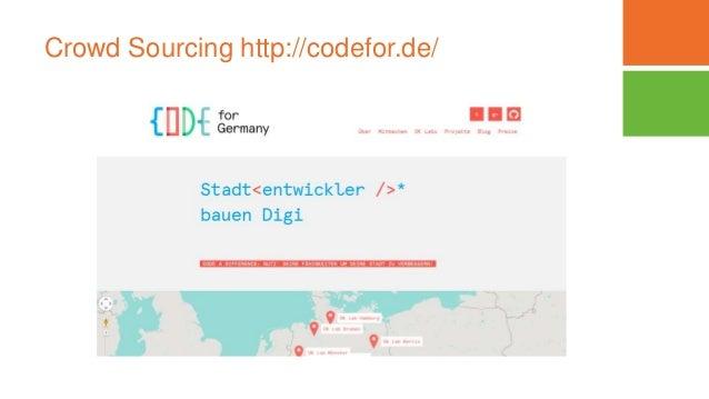 Crowd Sourcing http://codefor.de/