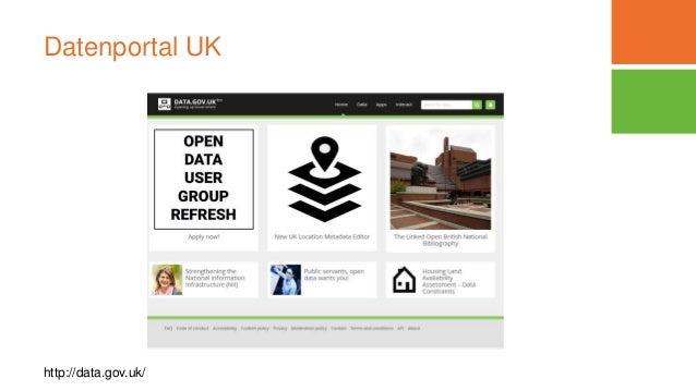 Datenportal UK http://data.gov.uk/