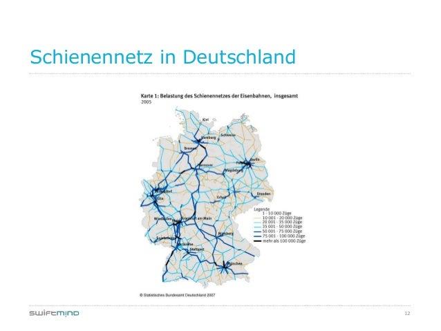 12Schienennetz in Deutschland