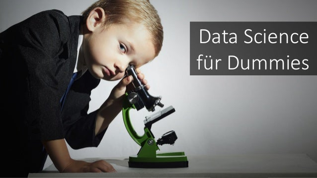 Data Science für Dummies