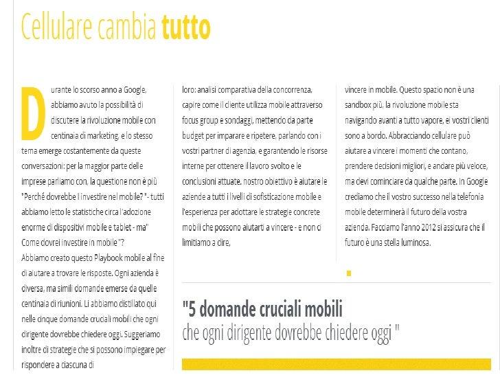 Dati google mobile_la_potenza_4_marketing Slide 2