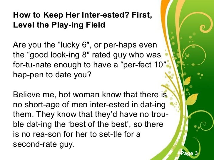 How to get a girl interested in you online dating
