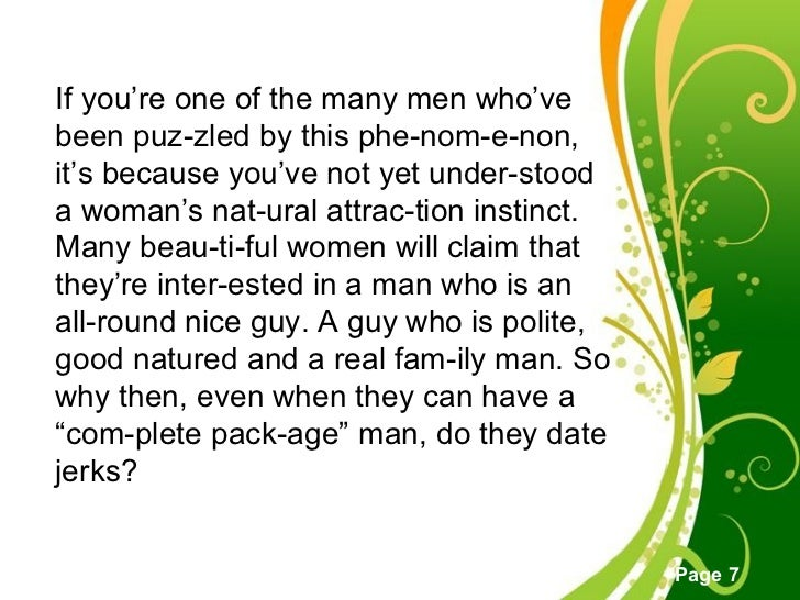 A Woman A In What Interested Makes Man