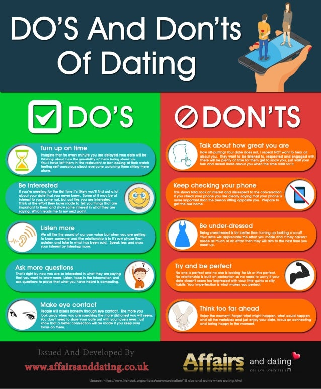dating donts