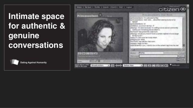 Dating against humanity Slide 3