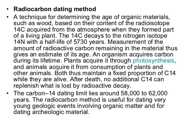 Dating Geologic Time Scale Geomorphology Chapter