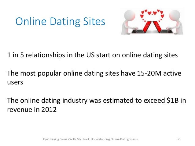 Internet dating scams 2012