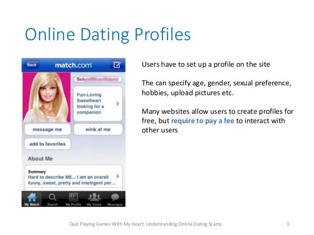 How To Create My Online Dating Profile
