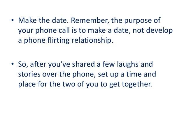 Flirting advice