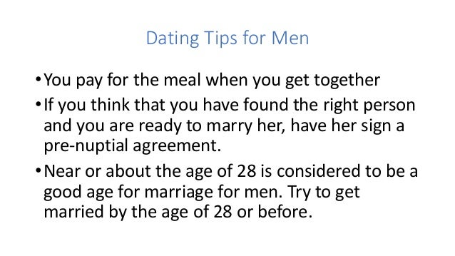 Dating tips for men — img 14