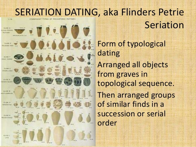 Flinders petrie sequence dating in archaeology