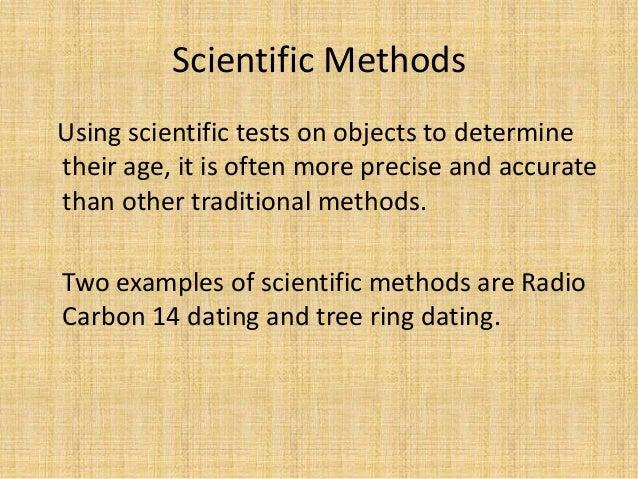 dating methods dendrochronology