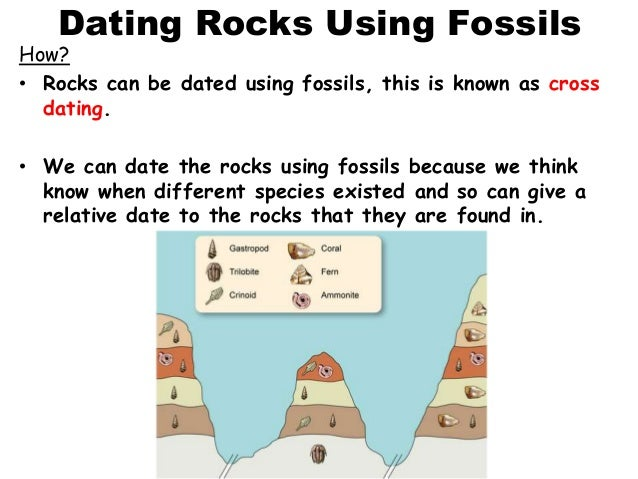dating rocks and fossils
