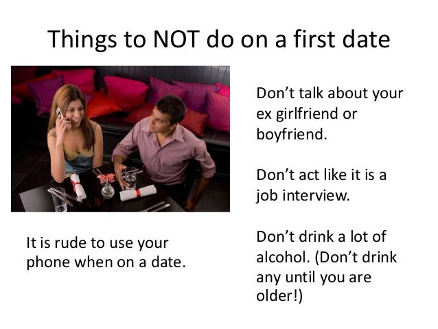 Things not to do when hookup