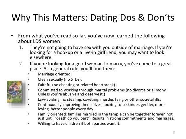 Celestial dating lds