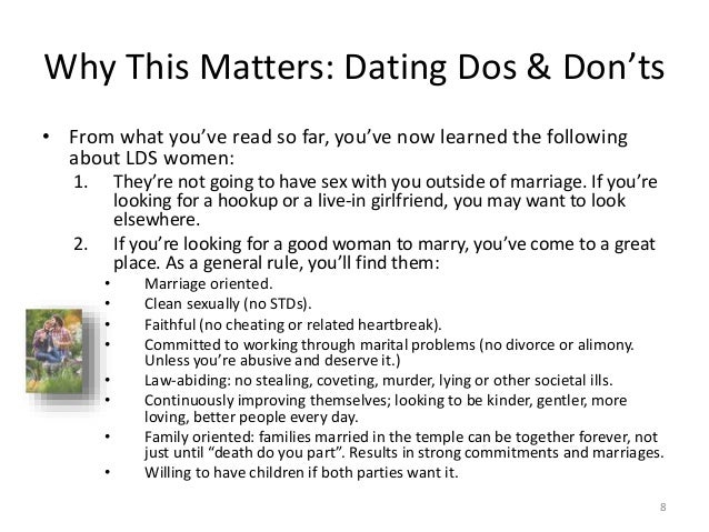 The Do s and Don ts of Christian Dating